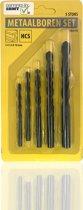 3BMT - Metaalboren set - 5-delig - diameter 4, 5, 6, 8 en 10 mm - HCS