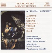 The Art of the Baroque Trumpet Vol 5 - An Italian Concert / Niklas Eklund