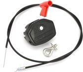 Universele 142cm 56inch Throttle Cable & Choke Lever Voor Lawnmower Lawnmower