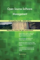 Open Source Software Management A Complete Guide - 2020 Edition