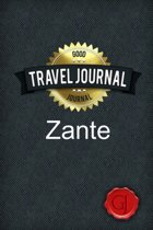 Travel Journal Zante