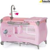 Hauck Babycenter - Campingbedje - 60 x 120 cm - Birdie Grijs
