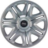 4-Delige J-Tec Wieldoppenset Nascar ST 13-inch zilver