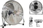 Ventilator | Vloerventilator | Industrial look | Metaal | 45 cm