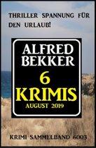 6 Krimis August 2019 - Krimi Sammelband 6003