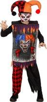 Monster & Griezel Kostuum   Scary Joker   Jongen   Maat 128   Halloween   Verkleedkleding