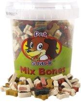 Petsnack Mix Bones Hondensnack - 500 gr