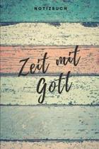Zeit mit Gott Notizbuch