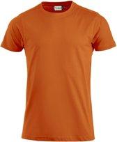 Premium-T hr t-shirt 180 g/m² diep oranje xl