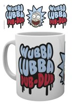 Rick and Morty Wubba Lubba Dub Dub - Mok