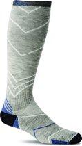 Sockwell sokken compressiekousen / hardloopkousen SW8M.800:L/XL Incline OTC  Lt. Grey