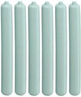 6x Koelelement staaf mintgroen 2,5 x 20 cm - Koelblokken/koelelementen voor koeltas/koelbox