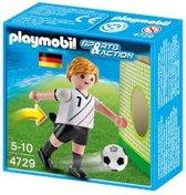 Playmobil voetbalspeler Duitsland 4729