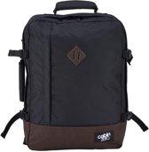 Cabinzero Vintage - handbagage - ultralichte cabin Rugzak - 55x40x20 cm - Absolute Black