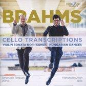Brahms: Cello Transcriptions