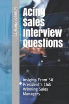 Acing Sales Interview Questions