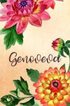 Genoveva: Personalized Journal for Her (Su Diario)