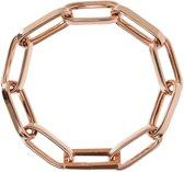 Bronzallure Elongated Link Bracelet Rosé (WSBZ01664)