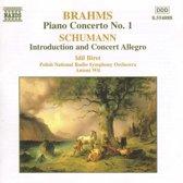 Brahms: Piano Concerto no 1; Schumann / Idil Biret, Antoni Wit, Polish NRSO