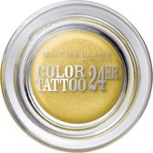 Maybelline Color Tattoo 24H - 75 24K Gold - Goud - Oogschaduw