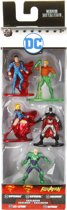 NANO METALFIGS - DC COMICS 5-ER FIGURENPACK 2