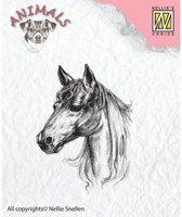 Ani018 Clearstamp Nellie Snellen paard stempel