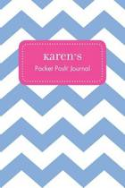 Karen's Pocket Posh Journal, Chevron