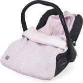 Jollein Confetti knit Comfortbag groep 0+ 3/5 punts  vintage pink