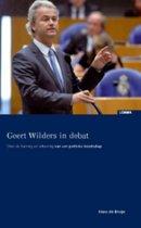 Geert Wilders in debat