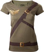 ZELDA - T-Shirt Women Link's shirt with printed straps (M)