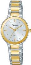Pulsar PH8284X1 horloge dames - zilver en goud - edelstaal