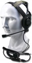 Midland Bow-M Evo militaire headset voor Airsoft en Paintball