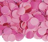 100 gram confetti kleur roze