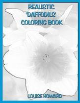 Realistic 'daffodils' Coloring Book