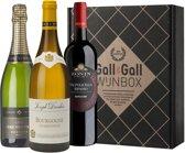 Gall & Gall Wijnbox Diner Deluxe - Rode en Witte Wijn - 3 x 75 cl