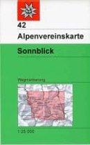 DAV Alpenvereinskarte 42 Sonnblick 1 : 25 000 Wegmarkierung