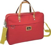 Nomad Urban Canvas - Laptoptas - Rood