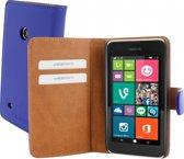Mobiparts Premium Wallet Case Nokia Lumia 530 Blue