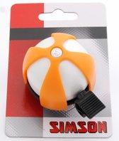 Simson bel Sport wit/oranje