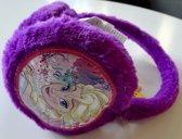Paarse oorwarmers van Disney Frozen