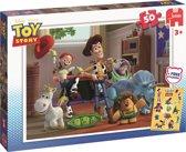 Jumbo Toy Story + gratis sticker - 50 stukjes