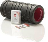 Fight Back - Foam roller - Met Work-Out Cards - Zwart/Rood