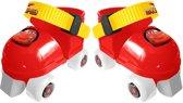 Disney Rolschaatsen Met Bescherming Cars Rood Mt 23-27