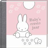 Nijntje Baby's 1e jaar roze herziene editie