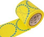 MT masking tape tambourine yellow