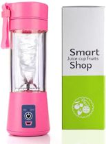 Oplaadbare JetBlender - Portable blender - Draadloos - Verse smoothies - 380 ml  - Duurzaam - Healthy - Verse baby-/peuterhapjes - Blender Bottle - Rose