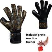 Elite - Aztlan - Keepershandschoenen - inclusief Reaction trainer - maat 6 - voetbal keepershandschoenen - keepershandschoen - Goalkeeper handschoen