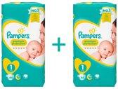 Pampers Premium Protection Maat 1 - 2-5 kg - 88 luiers