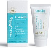 2-in-1 Purifying Facial Mask and Exfoliator - Pomegranate Seed Oil, Lemon &Macadamia (all skin type) 50ml