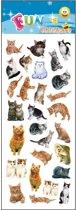 Stickervel katten
